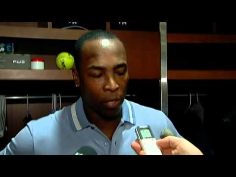 New York Yankees Alfonso Soriano discusses struggles on offense