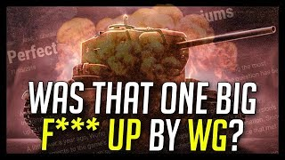 ► A BIG F*** UP by WG? - World of Tanks The End of Preferential Premium Tanks