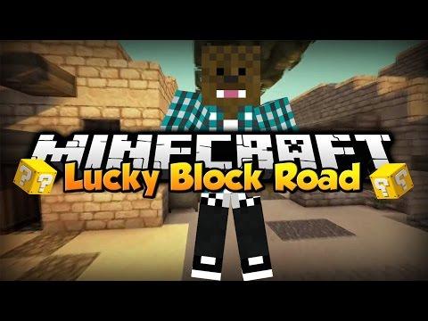 Minecraft: Lucky Block Road video