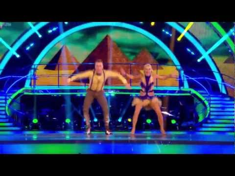 James and Denise dance the Charleston to &quot;Walk Like an Egyptian&quot; by The Puppini Sisters. The dance scored a total of 39 with the judges.