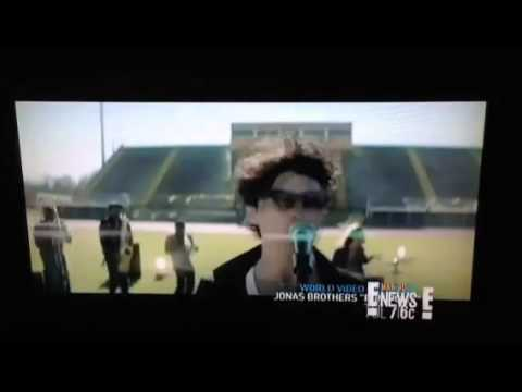 E! News Talks About The Jonas Brothers New Video Pom Poms video