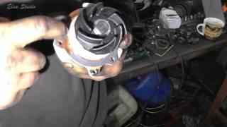Замена помпы на ваз 21124 16 клапанов своими руками