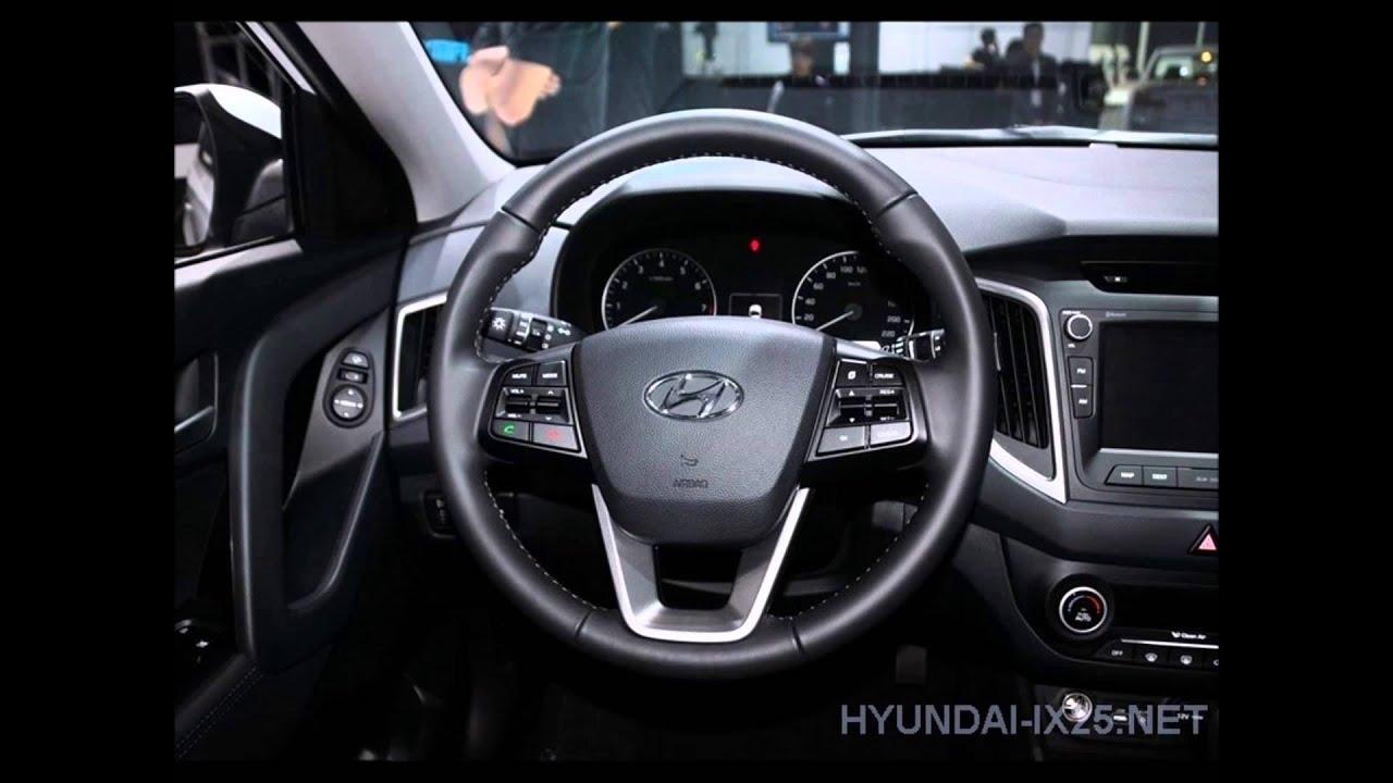 Обзор серийной версии Hyundai Creta (ix25) - YouTube