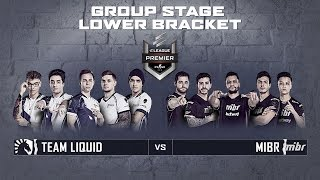 ELEAGUE CS:GO Premier 2018 -Team Liquid vs MiBR - Group Stage Lower Bracket