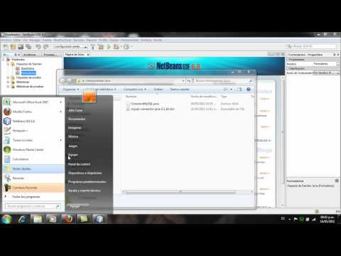 Aplicacion Java y MySQL, Netbeans - Parte1