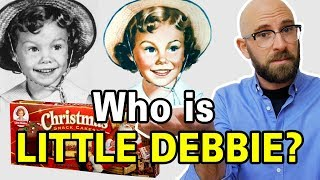 Who is Little Debbie from the Junk Food Brand?