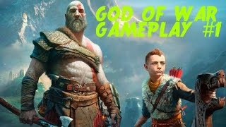 Let's Play God of War- PS4 Live Streaming Gameplay I GrandDeluxe Gaming