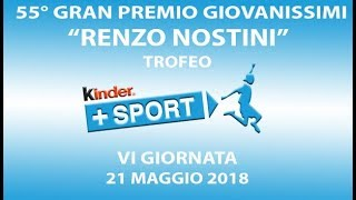 55° GPG Trofeo Kinder +Sport - VI GIORNATA - Live Streaming