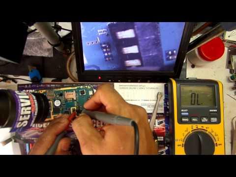 reparacion SAMSUNG GALAXY YOUNG GT - S5360 dead short .corto en pines de bateria