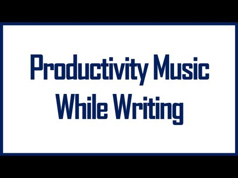 Music To Listen To When Writing [Productivity Music] Music To Listen While Writing.