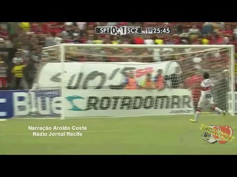 Top 5 Gols - Flávio Caça Rato CR7 no Santa Cruz