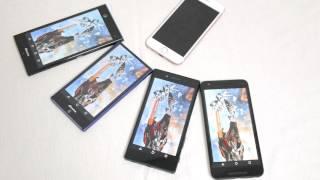 iPhone 6s、Xperia Z5、Nexus 5X、arrows、AQUOSでベンチマーク測定