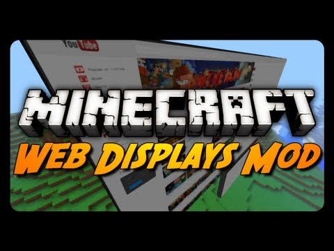 Minecraft: Web Displays Mod! (Functional Internet Browser)