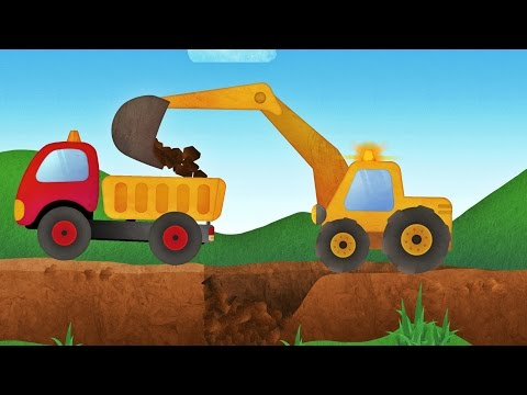 Tony the Truck & Construction Vehicles -  App for Kids: Diggers, Cranes, Bulldozer