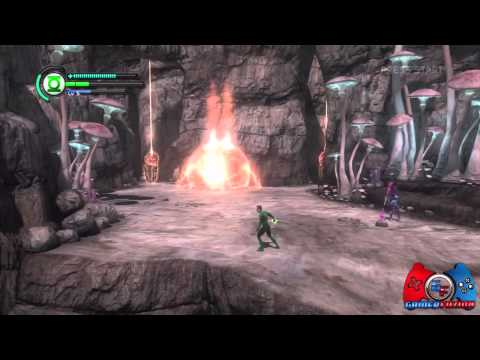 Green Lantern Rise of the Manhunters Walkthrough Part 7 (XBOX 360, PS3, 3DS, WII, DS)