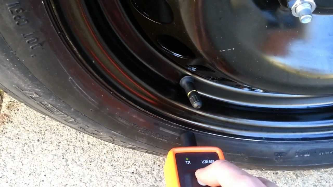 Tire Pressure Monitoring System (TPMS) relearn - 2012 ...