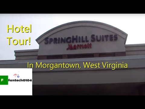 Hotel Tour: Spring Hill Suites Morgantown WV