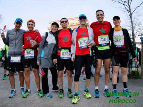 Running In Morocco au Marathon de Paris 2016