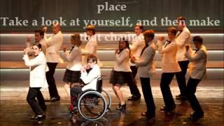 Watch Glee Cast Man In The Mirror video
