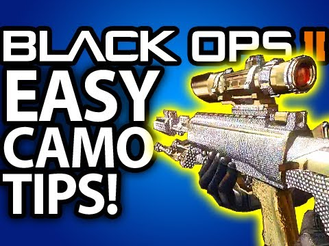 EASY DIAMOND CAMO SNIPERS! Black Ops 2 Tips and Tricks by @ItsYouTubeDude