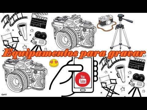 Equipamento de Gravação de video