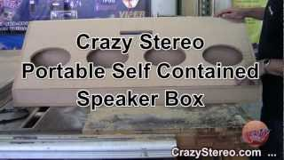 Crazy Stereo Stand Alone Speaker Box