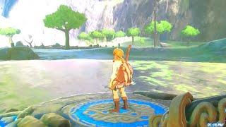 Nintendo switch gameplay legend of Zelda botw all of my skins