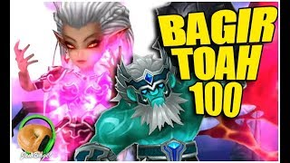SUMMONERS WAR : Bagir -vs- TOA Hard 100 (Lyrith Rotation)