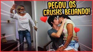 OS CRUSHS SE BEIJARAM NA FRENTE DA MINHA MÃE!! - TROLLANDO MINHA MÃE [ REZENDE EVIL ]