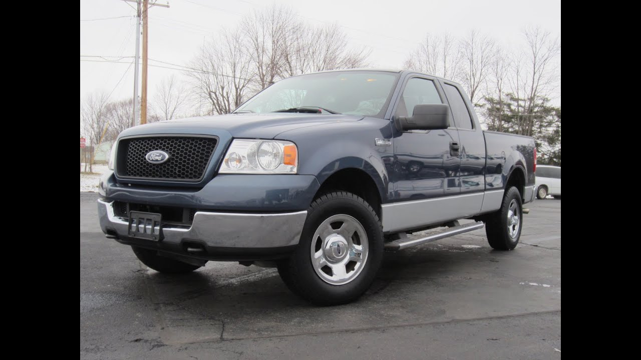 2005 Ford F-150 XLT 5.4L V8 4X4 FOR SALE NEW MICHELIN ...