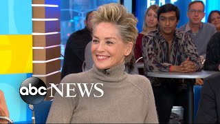 Why Sharon Stone brought her son to the Golden Globes