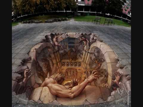 Optical Illusions And Street Art