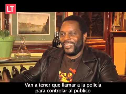Conversamos con Tyreese Chad Coleman de The Walking Dead. El actor estará presente