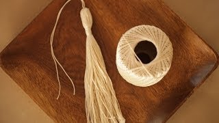 How to Make Tassels | Kin Conmunity