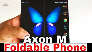 ZTE Axon M 2019 | WOW This Phone Is Good !! | 130 Dollar Foldable Phone