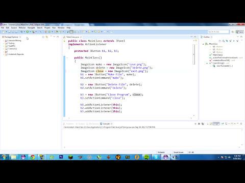 Java Tutorial 12: Hello ImageIcon!