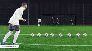 Podolski & Asamoah vs freekickerz - Football Challenge
