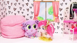 Fuzzy Nerlie Babies ! Toys and Dolls Fun for Kids with New Frosties Baby Doll Play