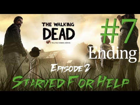 The Walking Dead: The Game - Episode 2 - Starved For Help - Part 7/Ending [HD]