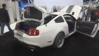 JVC Ford Mustang Shelby GT500 Super Snake - Sound System by 15yr old! CES 2012