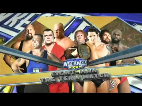 Wwe Wrestlemania Xxvii Full Match Card(hd) - Tonight! video