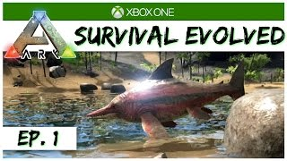 Ark Survival Evolved - Ep 1 - A New Survival! - Singleplayer Xbox One Gameplay - Let