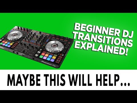 Basic DJ Transitions Tutorial with DJ Axcess
