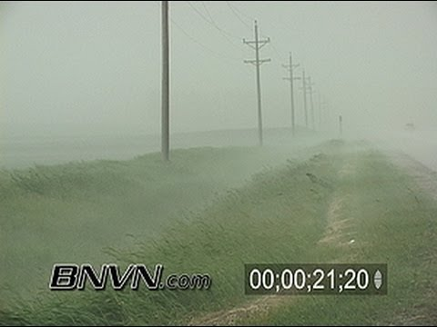 6/5/2005 Generic storm chasing stock video