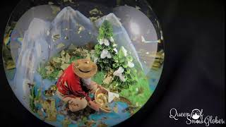 Gold Miner Limited Edition 24k Custom Snow Globes