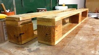 Play youtube video: Come costruire un portabottiglie con un pallet