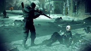 Sniper Elite Nazy Zombie Army |Gameplay| [II X4 631 & HD6450 1GB] HD