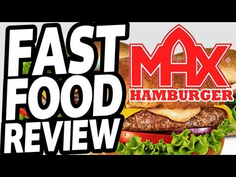 FAST FOOD REVIEW: MAX HAMBURGER - SWEDENS #1 FAST FOOD CHAIN!