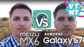 Samsung Galaxy S7 vs Meizu MX6 Сравнение Камер
