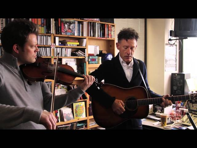 Lyle Lovett: NPR Music Tiny Desk Concert
